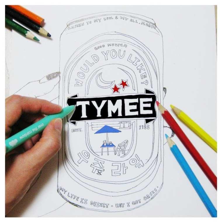 Tymee - 우주라잌 (cover art)