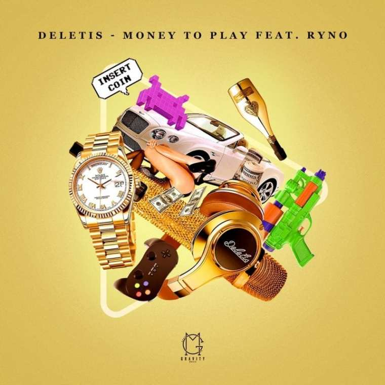 Deletis - Money to Play (cover art)