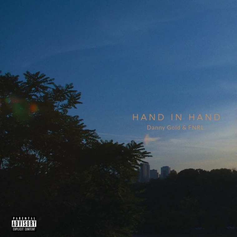 Danny Gold & FNRL. - Hand in Hand (album cover)