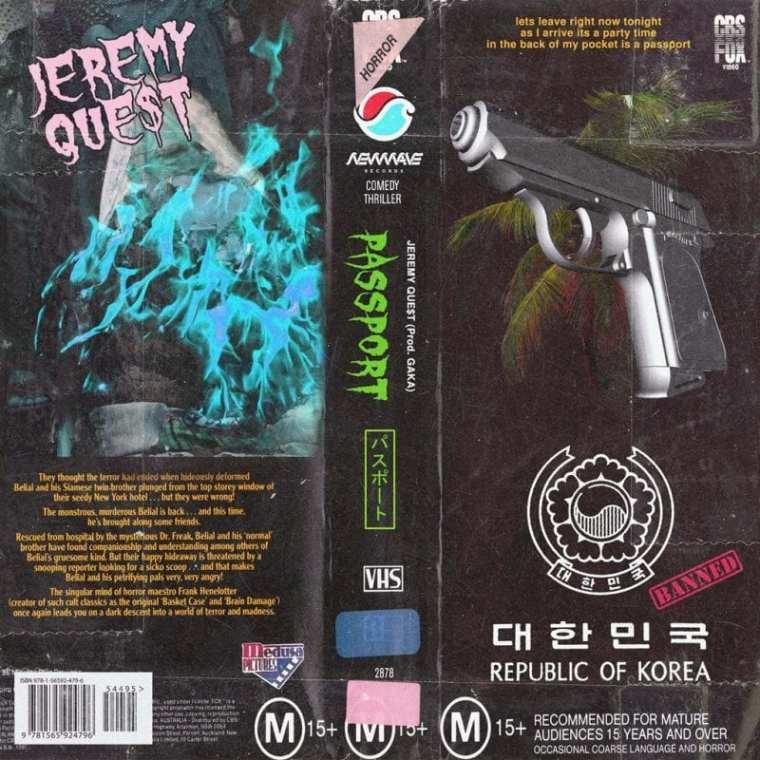 Jeremy Quest - Passport (cover art)