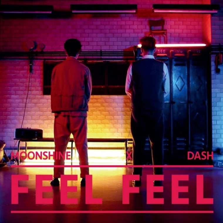 Moonshine x Dash - Feel Feel (cover art)