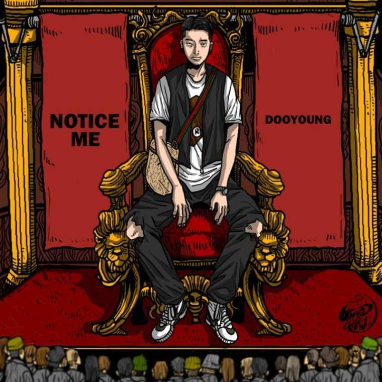DooYoung - NOTICE ME (cover art)