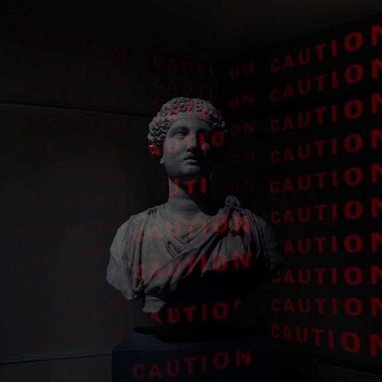 MUZIN - Caution (cover art)