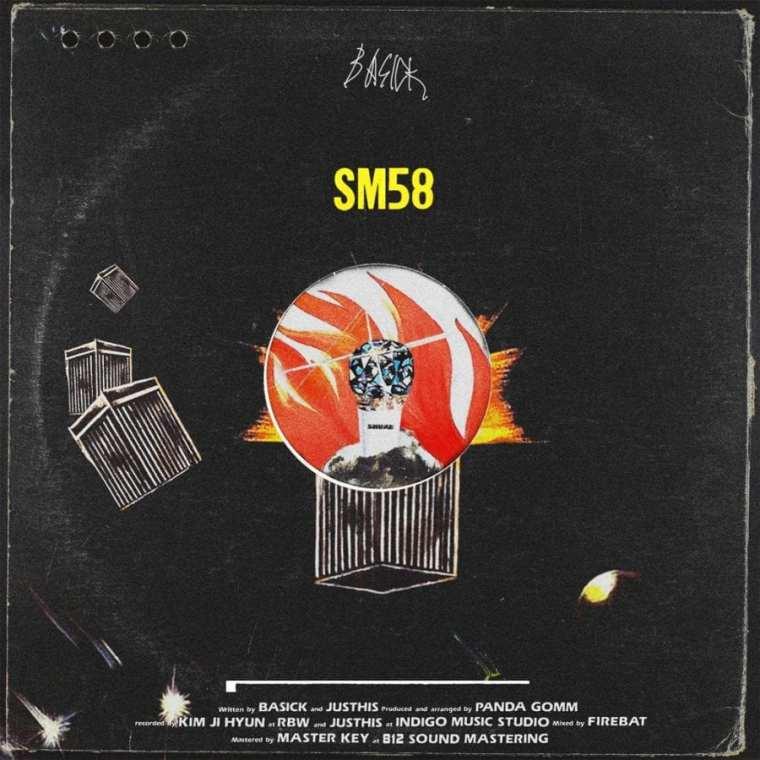 Basick - SM58 (cover art)