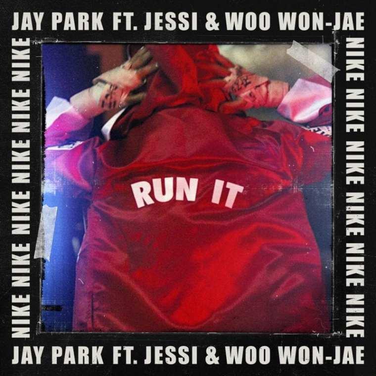 Jay Park - RUN IT (cover art)