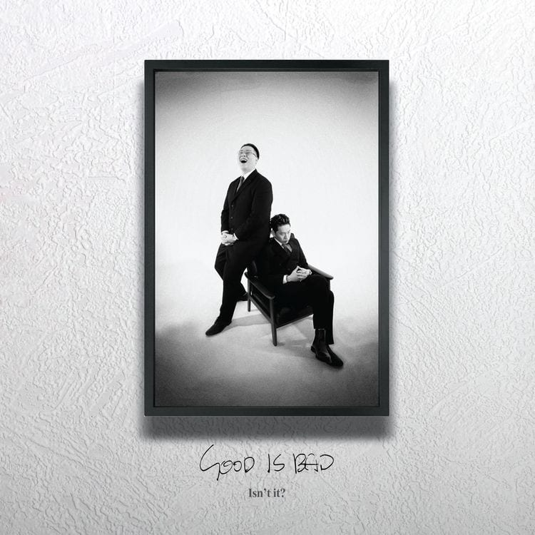 Jindotgae x WILLYEOM - GOOD IS BAD (album cover)