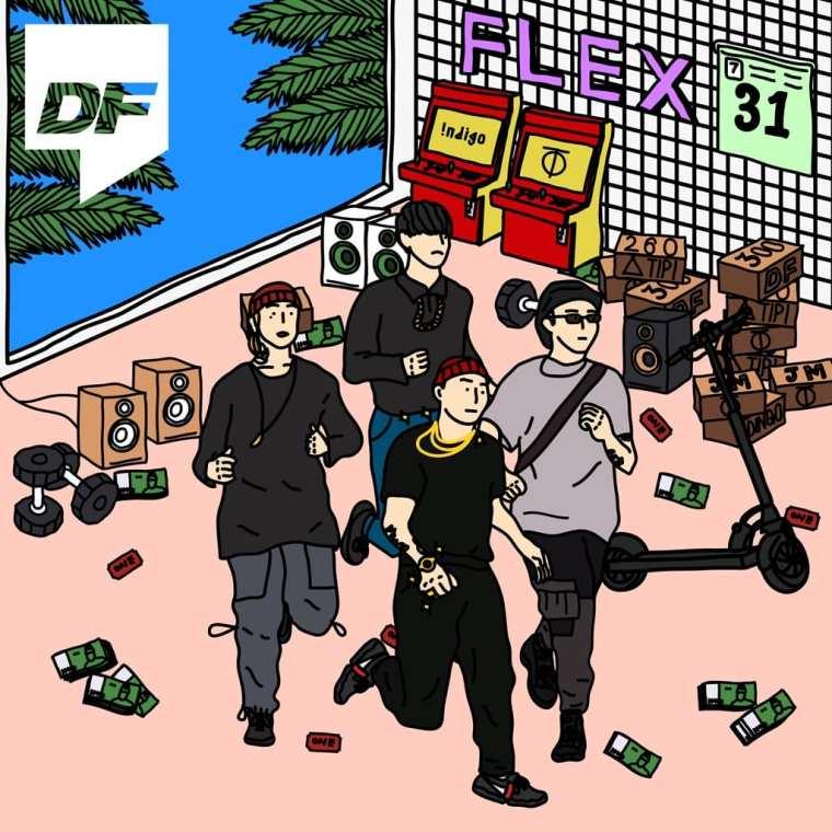GIRIBOY, Kid milli, NO:EL & Swings - Flex