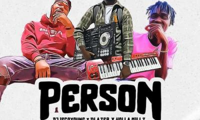 person cover ART Hip Hop More - DJ Iscoyoung x Blazer x Holla Millz – Person