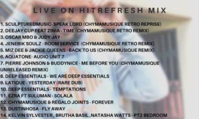 Chymamusique   Live On Hitrefresh Hip Hop More - Chymamusique – Live On Hitrefresh
