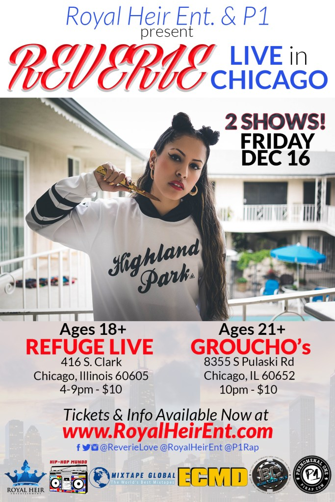 See latina hiphop star Reverie at Hiphop Mundo