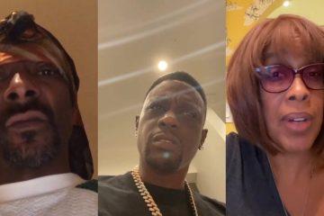 VIDEO: Snoop Dogg en Boosie Badazz woest op Gayle King na vraag over Kobe
