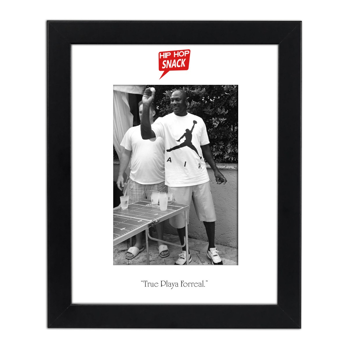"MJ ""True Playa Forreal"" (with Frame)"