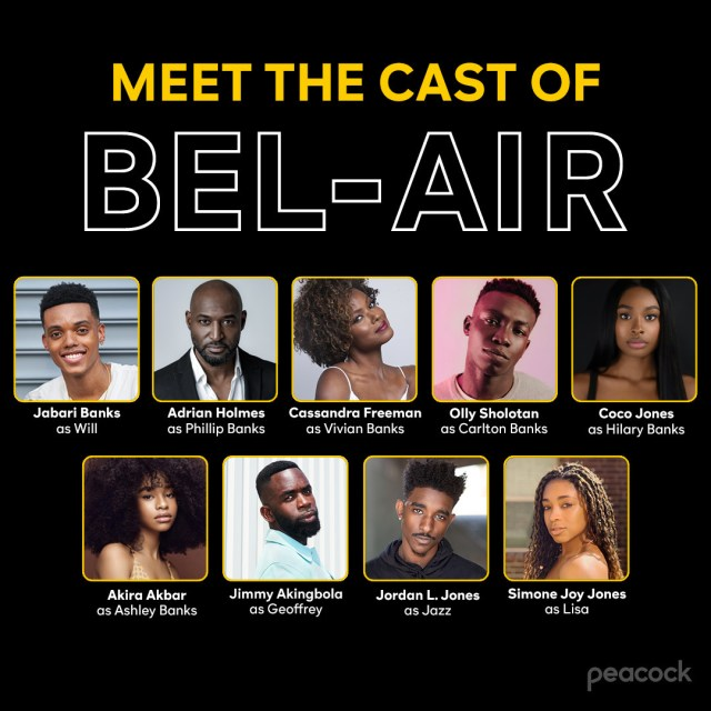 Bel-Air Cast