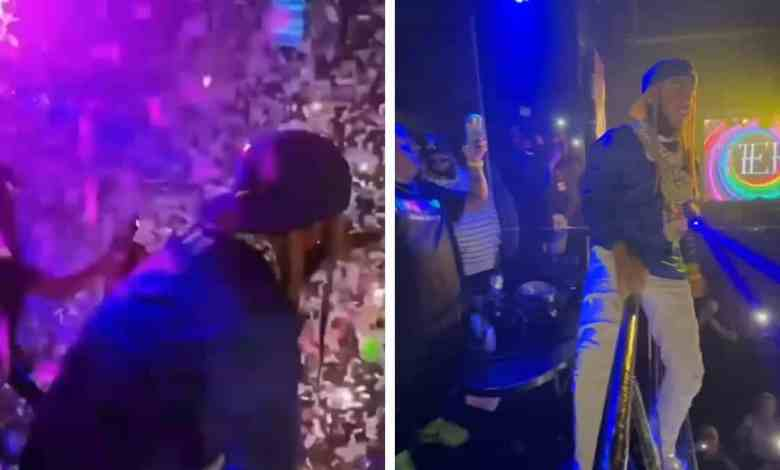 NEW TEKASHI 69 VIDEO PERFORMING LIVE, JUMPS INTO CROWD!