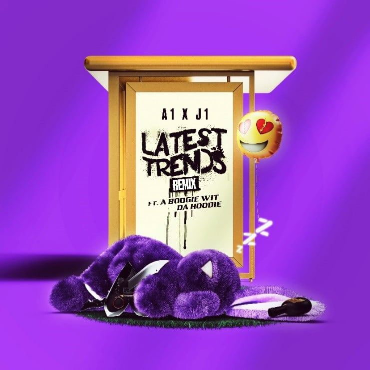 """A BOOGIE WIT DA HOODIE JUMPS ON A1 X J1'S """"LATEST TRENDS"""" REMIX"""