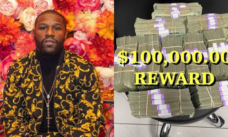 100K REWARD OFFERED BY FLOYD MAYWEATHER AFTER HOME IS BURGLARIZED