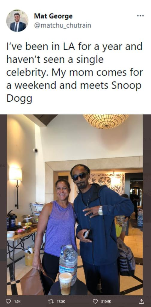 Snoop Dogg Lookalike Fools A Man And His Mother