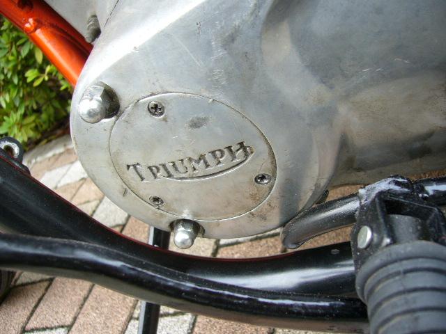 HIPLINE トライアンフ T140 カスタム チョッパー