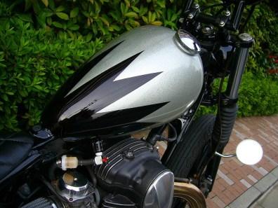 HIPLINE W650 カスタム チョッパー