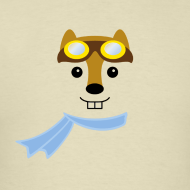 Giant-hipmunk-face-tee_design