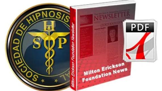 Milton Erickson Foundation newsletter