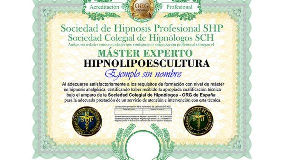 título máster en hipnolipoescultura