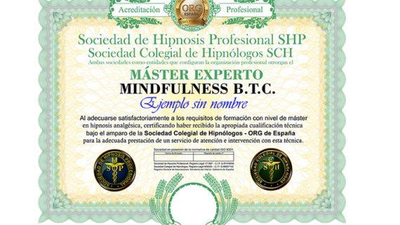 título máster en mindfulness