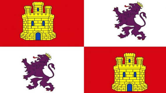 bandera de Castilla y León