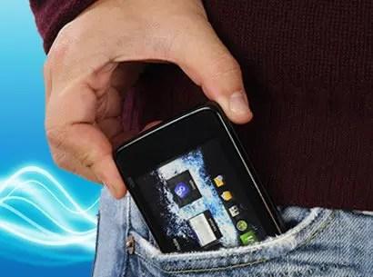 vibración imaginaria del teléfono móvil
