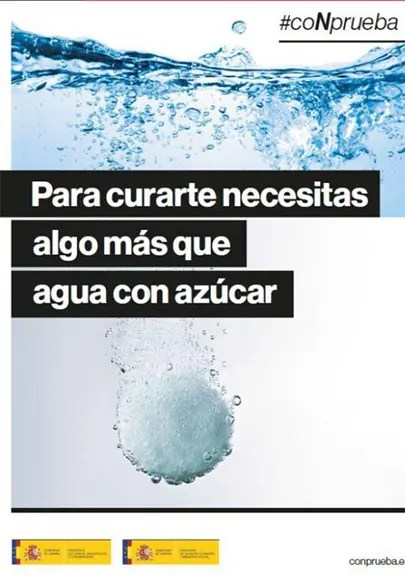 campaña CoNprueba. Gobierno de España