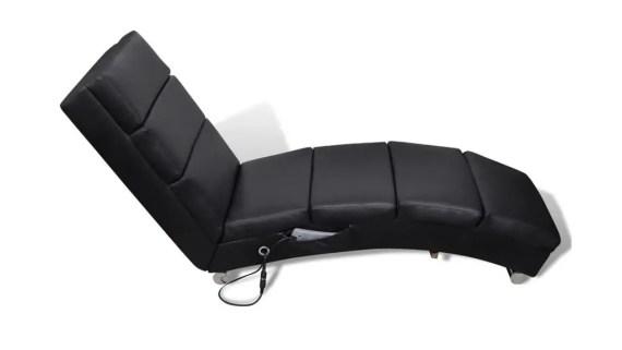 diván moderno para hipnosis negro