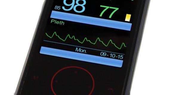 pulsioxímetro para hipnosis Pulox