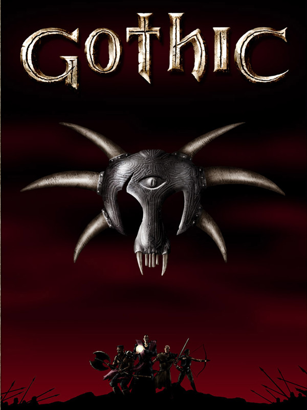 Gothic 1 rpg fantasy game poster