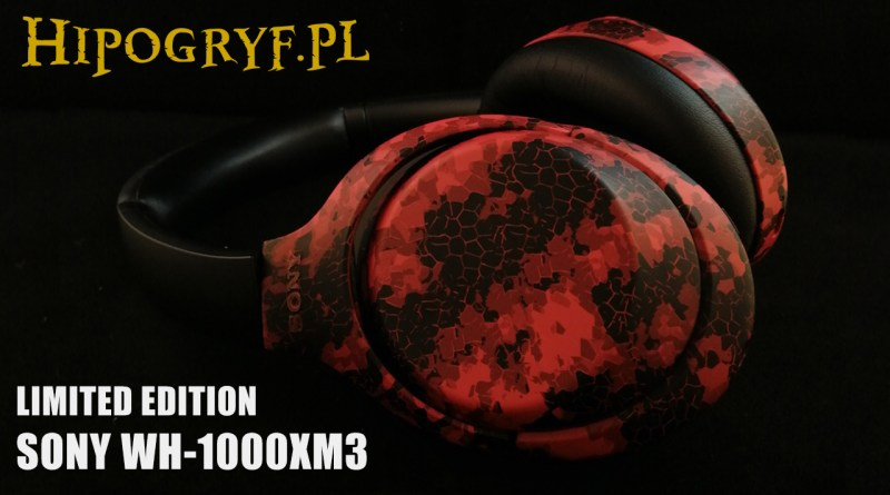 Sony WH-1000XM3 headphones - limited edition