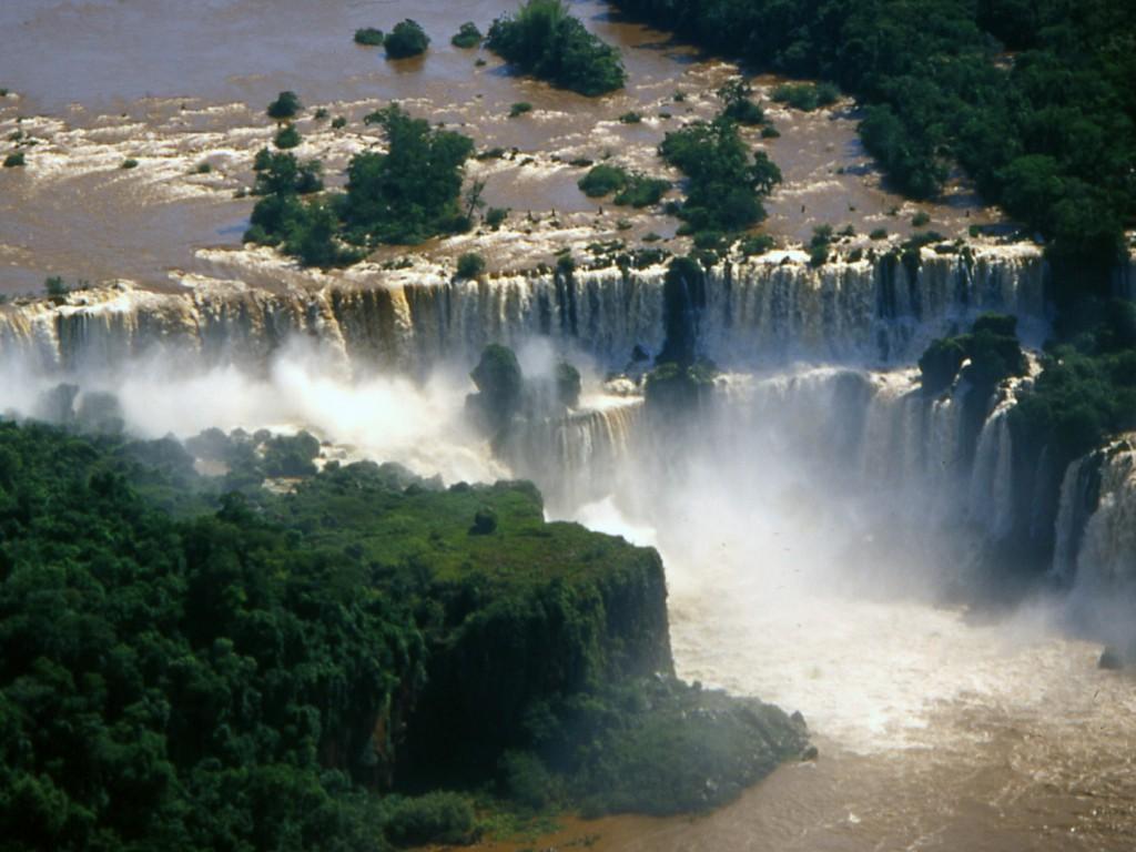 Foz de Igaucu Argentinië Brazilië