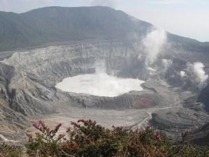 Vulkaan Poas Costa Rica