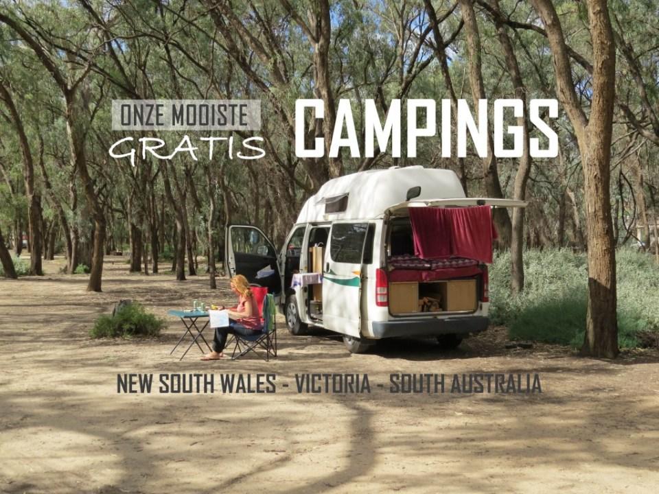 Gratis campings Australië