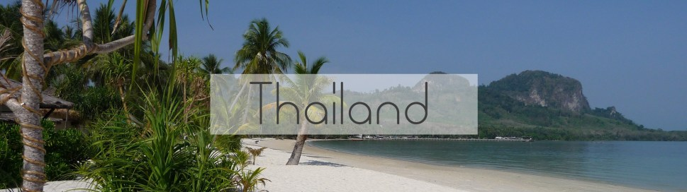 Thailand reisinformatie backpacken