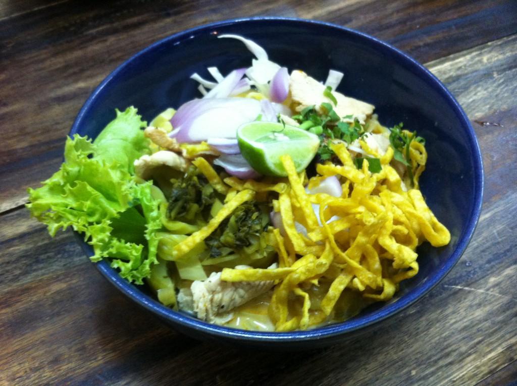 Khao Soi soup Thailand