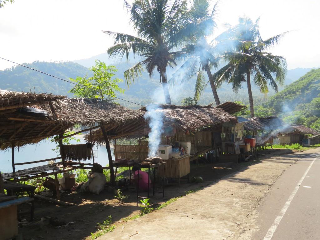 Onderweg in Lombok