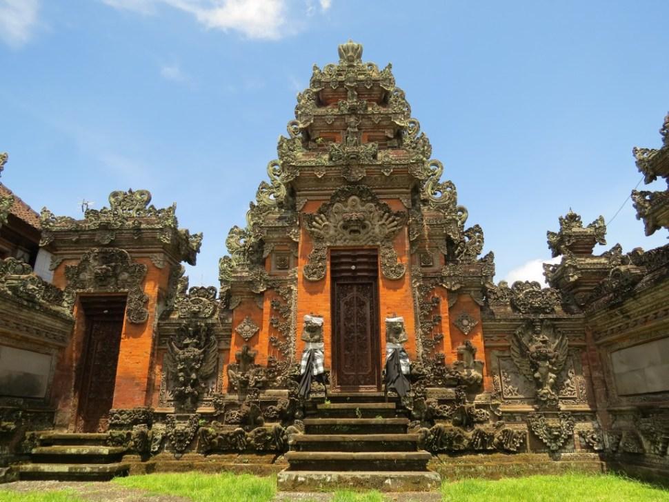 Pura Saraswati Temple Ubud Bali Indonesië
