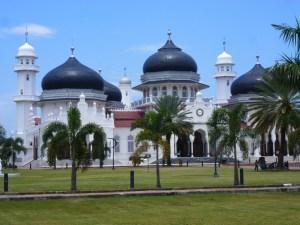 Grote Moskee Banda Aceh Sumatra Indonesie
