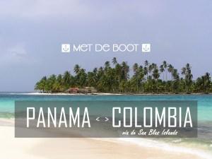 Boot Panama Colombia