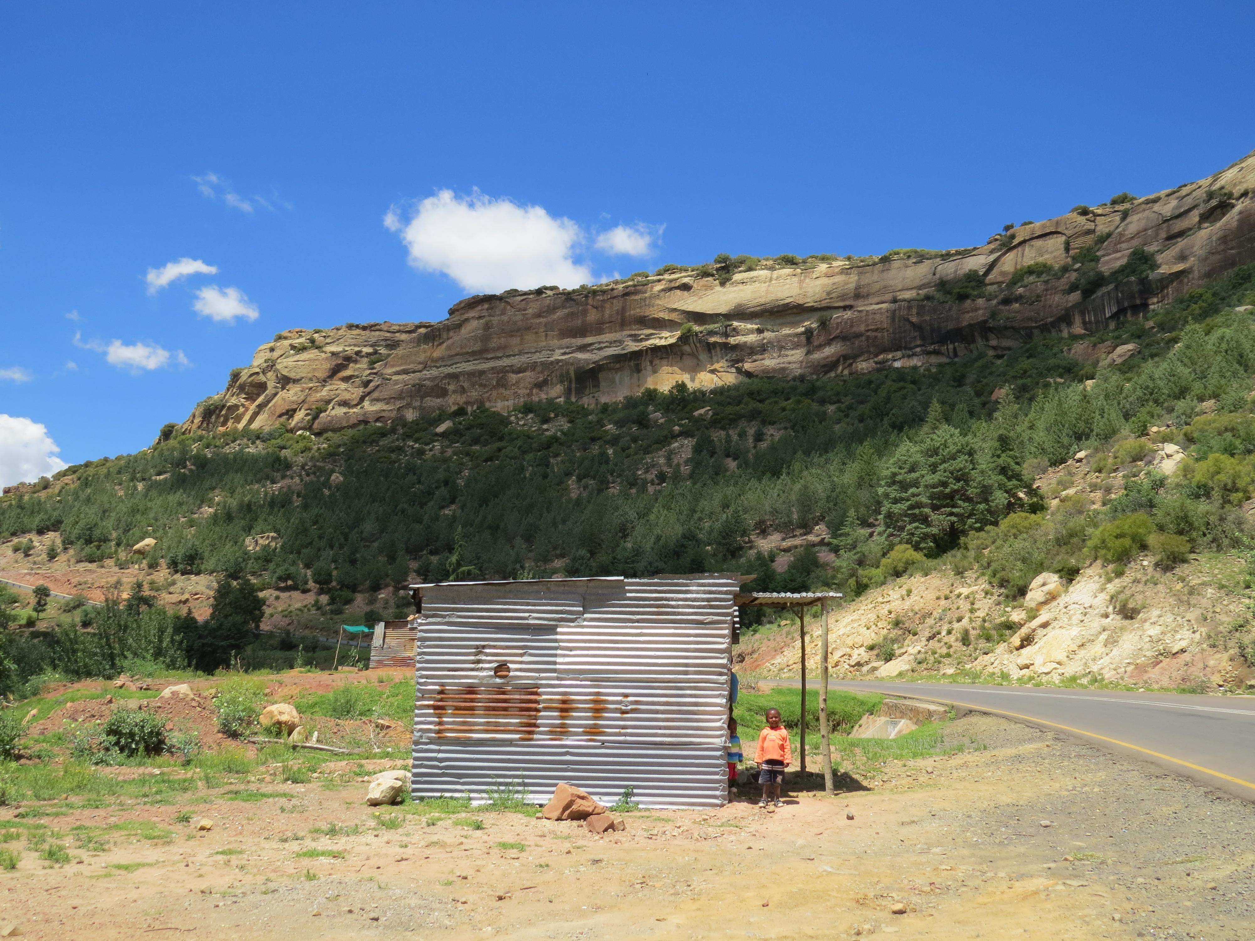 Onderweg in Lesotho