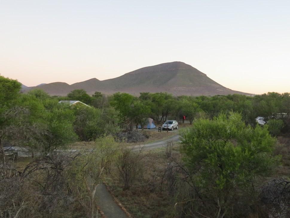 Camdeboo National Park camping Graaff Reinet Zuid-Afrika