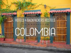 Hotels en backpackerhostels in Colombia