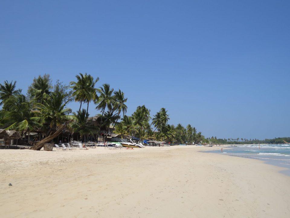 Uppuveli eind februari Sri Lanka