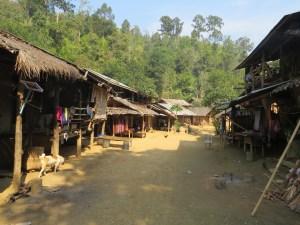 Omgeving Mae Hong Son Noord-Thailand