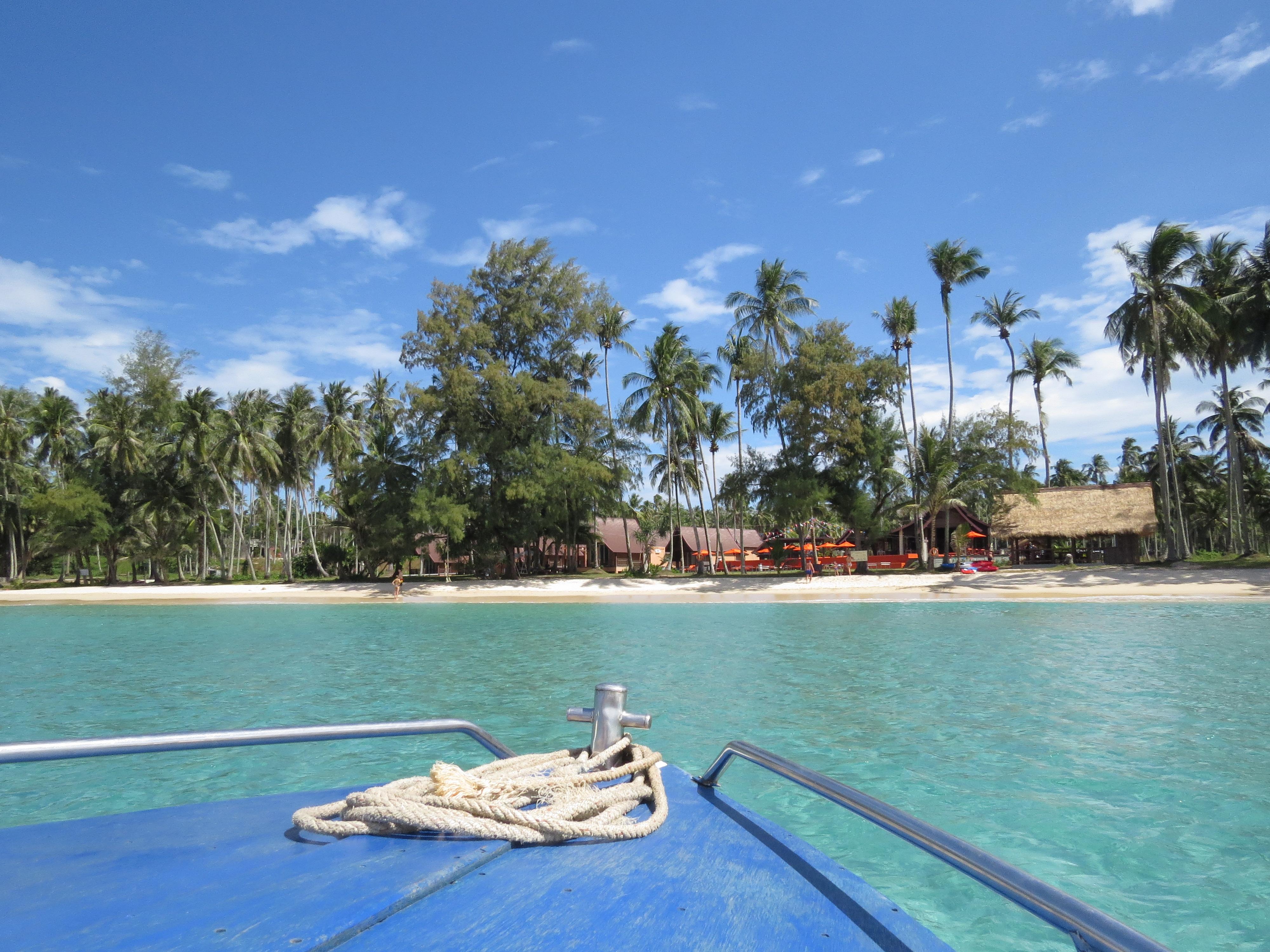 Boot naar Koh Kood Thailand