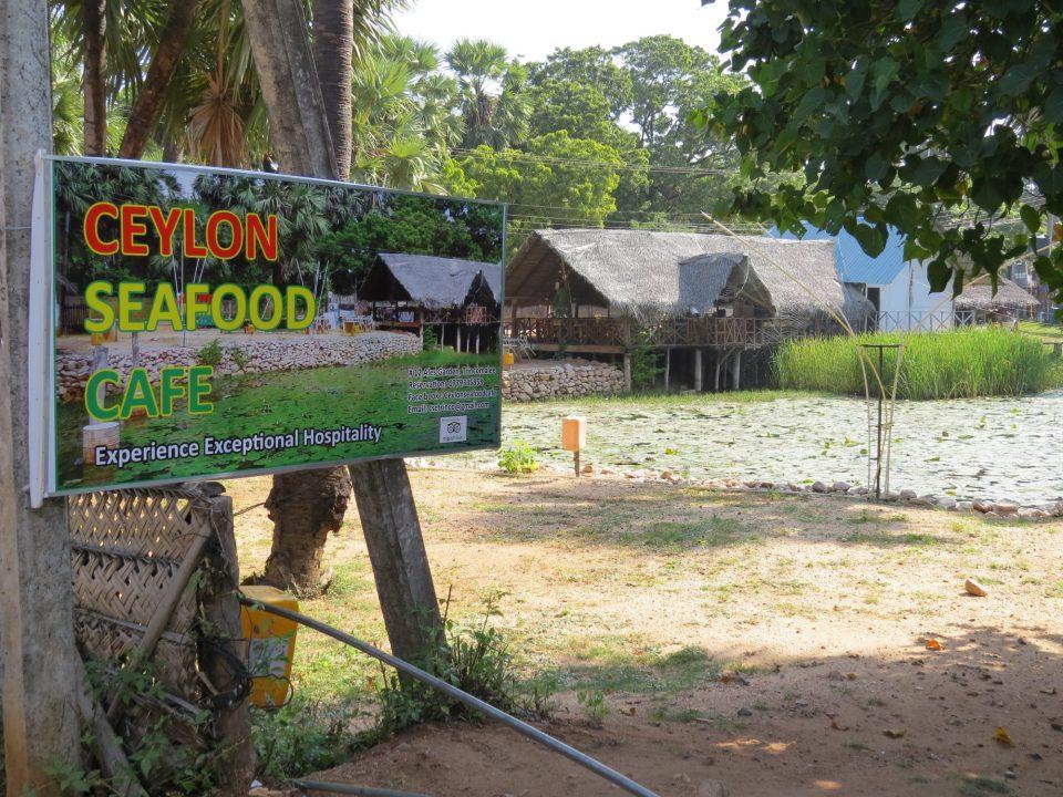 Ceylon Seafood Cafe Uppuveli Sri Lanka